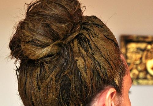 تقویت مو با حنا