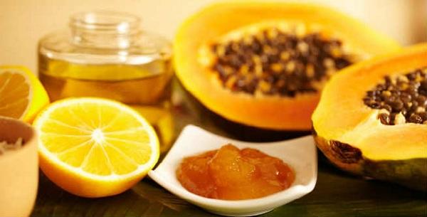 پاپایا و عسل برای سفید کردن پوست مناسب هستند