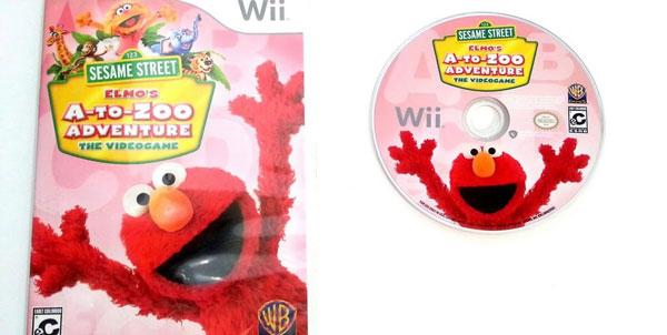 بازی Sesame Street: Elmo's A-to-Zoo Adventure