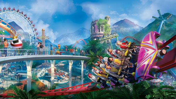 بازی planet coaster