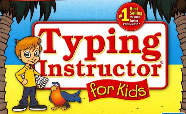 بازی typing instructor for kids